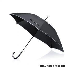 Paraguas personalizado automático Antonio Miró abierto