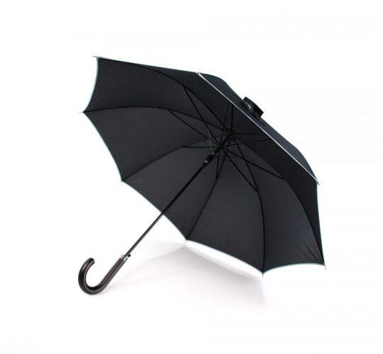 Paraguas personalizado automático Antonio Miró abierto interior