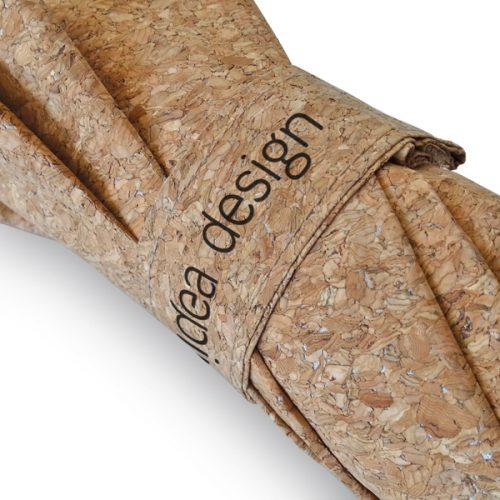Paraguas personalizado ecologico corcho cinta cierre