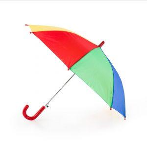 Paraguas personalizado infantil multicolor