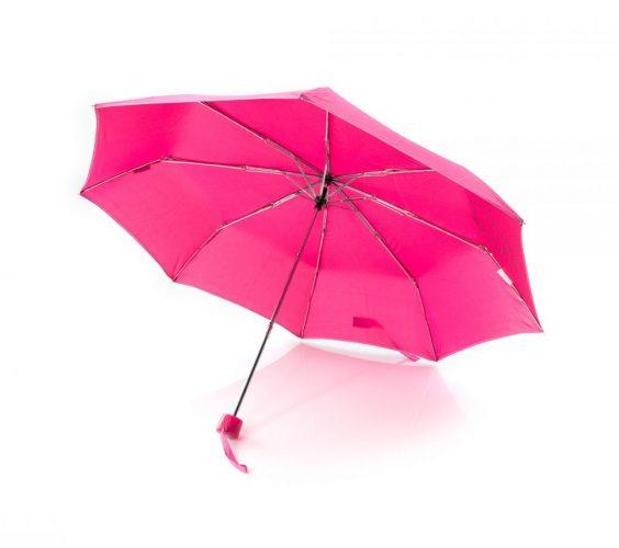 Paraguas personalizado infantil plegable Hello Kitty abierto 2