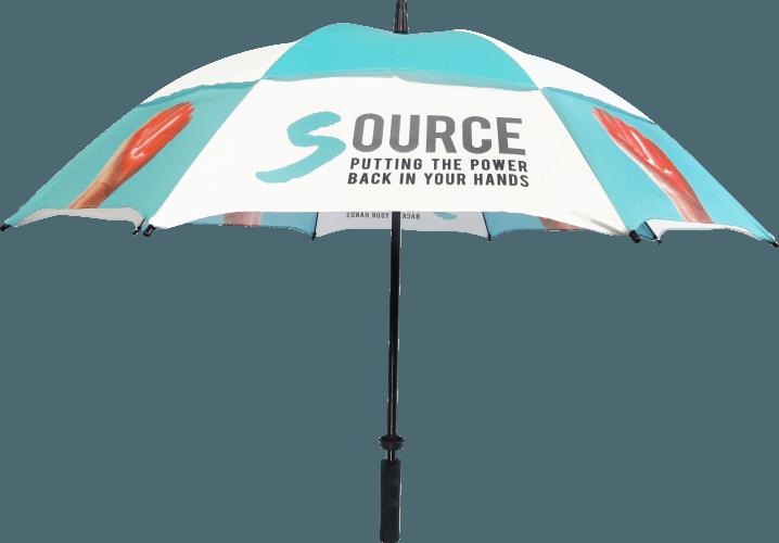 Paraguas personalizado regalo publicitario antiviento