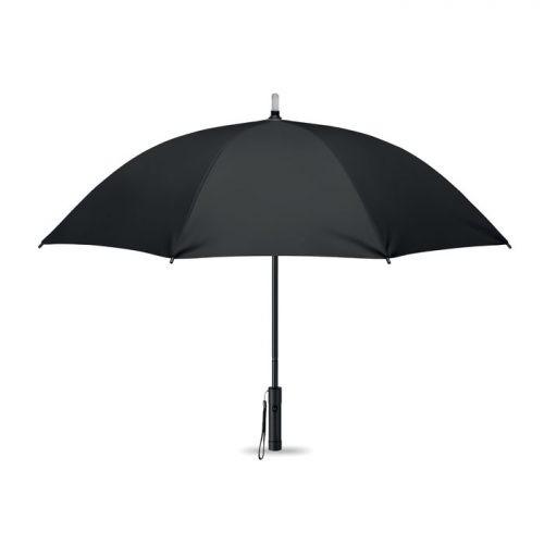 Paraguas personalizado regalo publicitario con luz negro