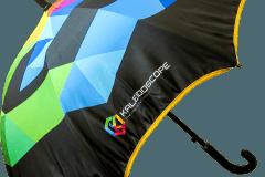 Paraguas personalizado tela sin costuras