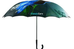 Paraguas personalizado con fotos sin costuras