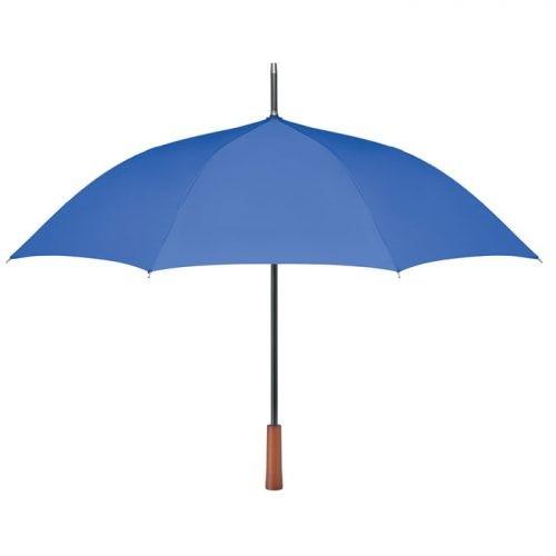 Paraguas ecologico personalizado mango madera
