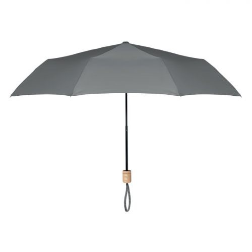 Paraguas ecologico plegable mango madera