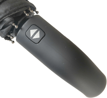 Paraguas personalizado plegable mango curvo automatico