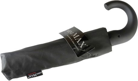 Paraguas personalizado plegable mango curvo cerrado