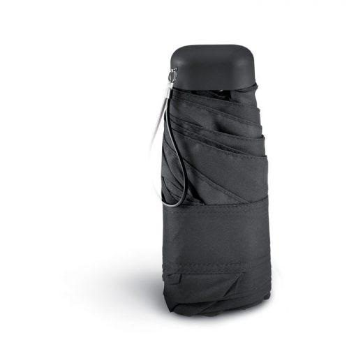 Paraguas plegable funda microfibra cerrado