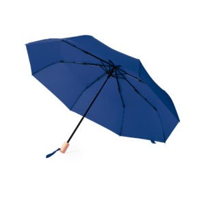 Paraguas plegable ecológico mango madera
