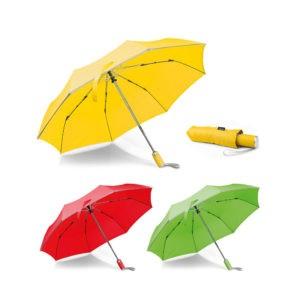 Paraguas publicitario plegable reflectante