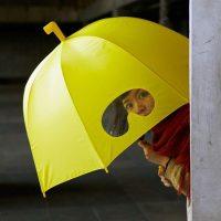 Paraguas para curiosos