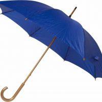 Paraguas personalizado barato madera azul marino
